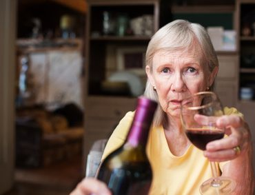 senior i alkohol