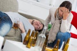 żona alkoholika