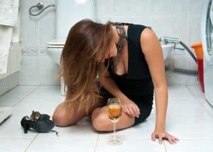 pijany nastolatek