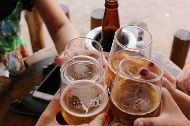 alkohol i rak